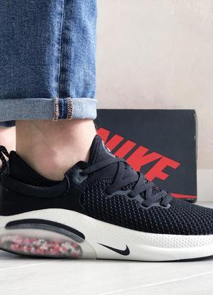 Отличные мужские кроссовки nike joyride run flyknit чёрные