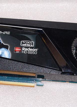 Игровая SAPPHIRE Radeon HD 6950 Toxic 2GB 256-Bit GDDR5