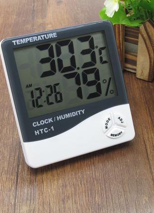 Часы Термометр Гигрометр с выносным датчиком
