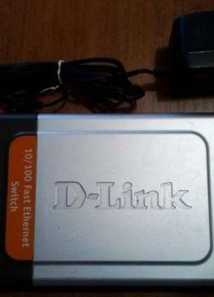 Коммутатор свитч 8 портов D-Link DES-1008D