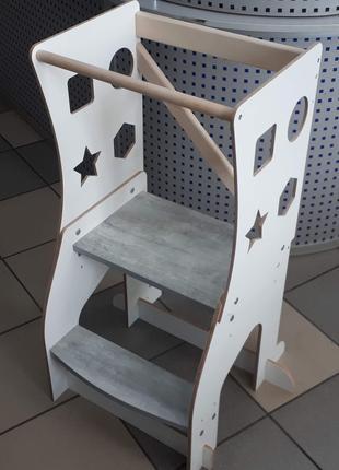 Башня Монтессори, kitchen helper, дитячий стільчки підставка