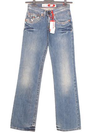 Take Two Италия Джинсы 26/34 штаны на девочку прямые брюки