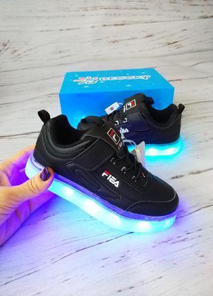 Led кроссовки с подсветкой унисекс