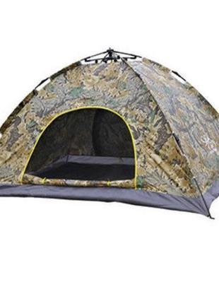 Палатка автоматическая 6-ти местная Камуфляж SKL11-239310
