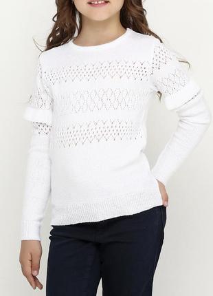 Новый мягенький свитерок для девочки.