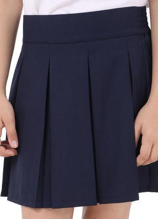 Новая юбка клёш в школу для девочки.