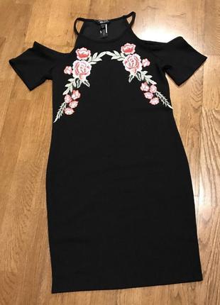 Облегающее платье new look на девочку подростка 14-15 лет/164-...