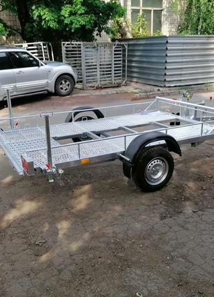 Прицеп Лафет под квадроцикл ( мотовездеход) 1000 кг