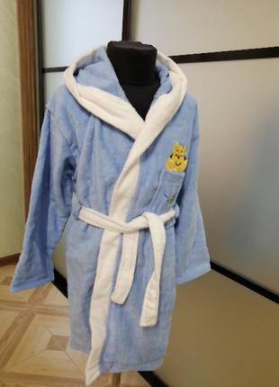Детский махровый халат велюр/махра, 6-8лет, в наличии размеры ...
