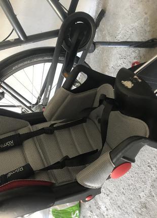 Детское Велосипедное кресло раздвижное