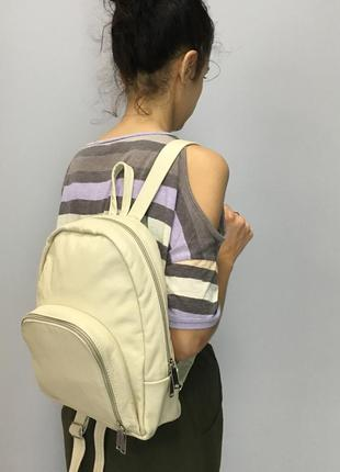 Рюкзак из кожи, кожаный рюкзак