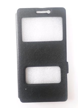 Чехол-книжка черный (black) для Lenovo k6 note