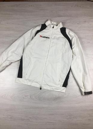 Куртка ветровка legea nike белая!