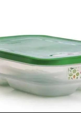 Умный холодильник 1.8л для овощей плоский