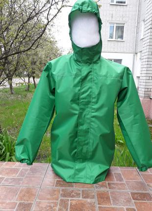 Ветровка зеленая, ветровка, куртка рабочая