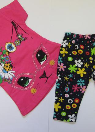 Летний костюмчик для девочки 1-2года.