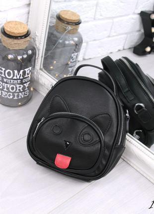Рюкзак женский cat черный / рюкзак женский