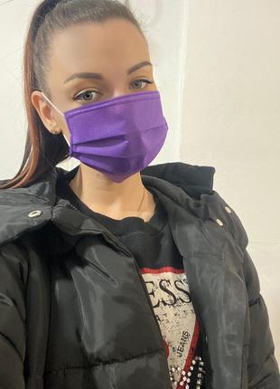 Медицинские одноразовые маски