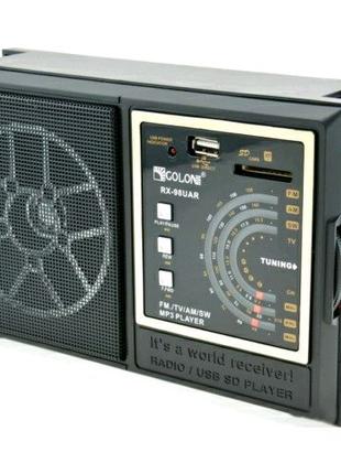 Радіо Golon Rx-98 (чорний)