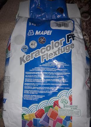 Фуга Mapei Keracolor Plus 111 серебристо-серая 5 кг