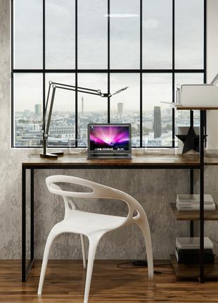 """Рабочий стол в стиле Лофт из натурального дерева""""Эванс"""""""
