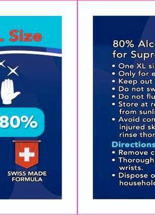 Салфетки спиртовые 80%
