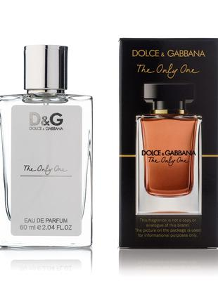 Dolce & Gabbana The Only One мини-парфюм женский 60мл