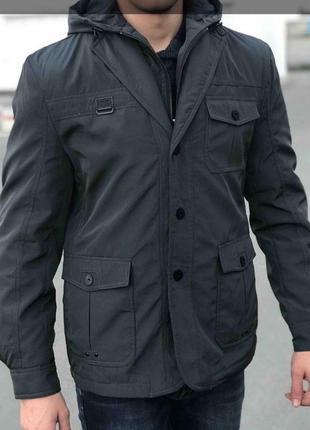 Отличная мужская куртка в стиле кежуал casual, v.seven