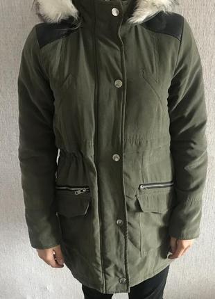 New look женская курточка парка s