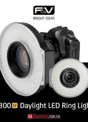 Светодиодный накамерный свет F&V R300S SE Bi-Color Ring Light