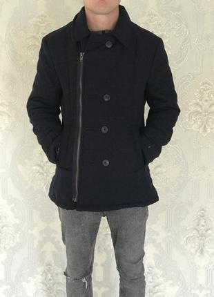 Мужская зимняя курточка пуховик парка