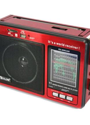 Радіо Golon RX-006 (велике червоне)