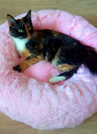 Мягкие круглые пуфики для собак и кошек от производителя