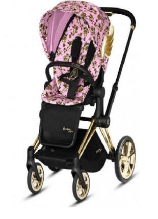 Прогулочная коляска Cybex Priam JS Cherub Blue, Pink, Black (н...