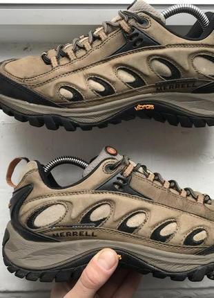 Merrell трекинговые кожаные кроссовки подошва vibram 41р оригинал