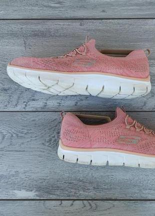 Skechers женские кроссовки сетка оригинал весна лето