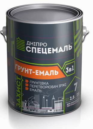 ГРУНТ-ЭМАЛЬ 3 в 1 0.9 кг 2.8 кг 25 кг 50 кг