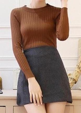 Стильный джемпер свитер