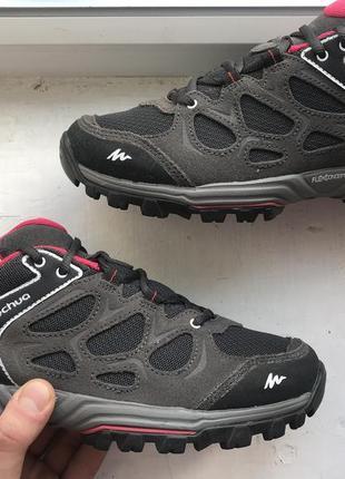 Quechua трекинговые кроссовки ботинки 39р