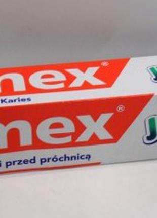 Зубна паста для дітей Elmex Junior від 6-15 років, 75 мл