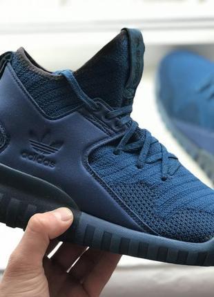 Adidas tubular x 41-42p высокие спортивные кроссовки оригинал