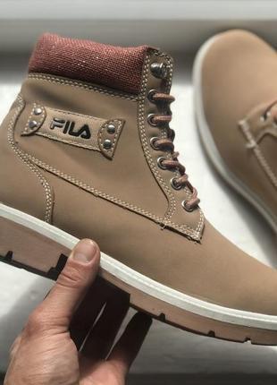 Fila демисезонные ботинки