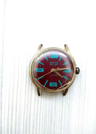Наручные часы Полет СССР позолоченные