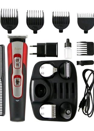 Машинка для стрижки волос 10 в 1 триммер бороды носа gemei592