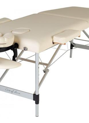 Супер-легкий Двухсекционный Массажный стол MOL