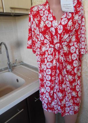 #туника из вискозы батал #большой размер 22 #одежда для береме...