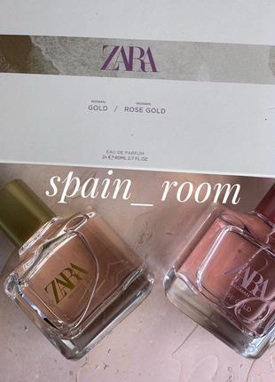 Духи zara woman gold/rose gold /парфюм /туалетная вода /парфум...