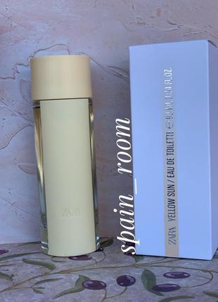 Духи zara yellow sun 90мл/парфюм /парфуми/туалетна вода /