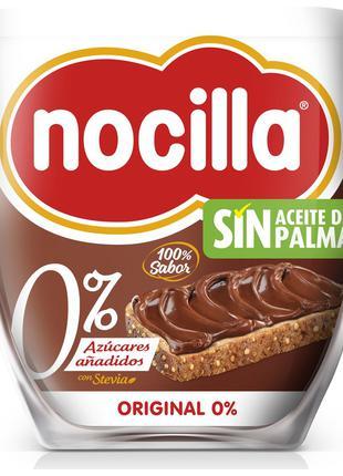 Шоколадная паста Nocilla, без сахара и пальмового масла, 190г