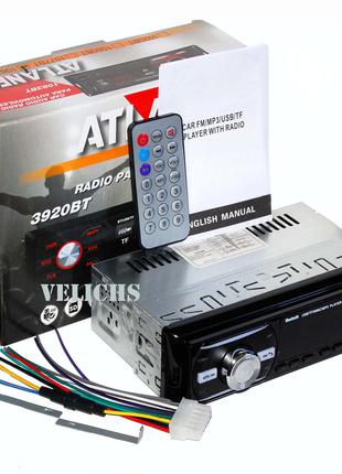 Автомагнитола ATLANFA 1083BT Bluetooth USB/SD/FM/AUX